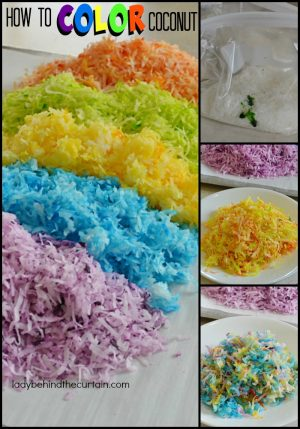 How to Color Coconut | Add this easy step and take a regular dessert up a notch! Decorate a cake or cupcakes. Transform the top of your cake or cupcakes into works of art!