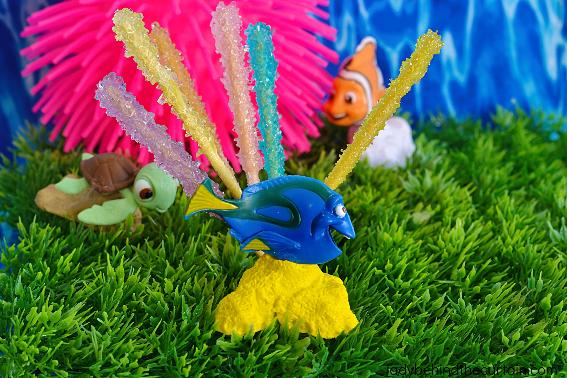 How To Make Finding Dory Coral Reef Rock Candy