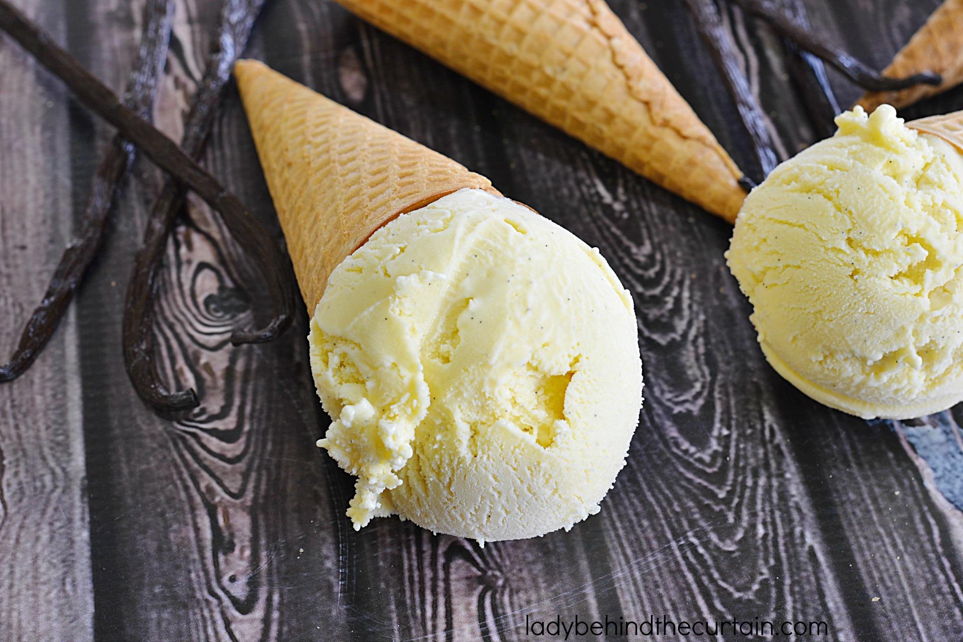 Old Fashioned Vanilla Bean Frozen Custard