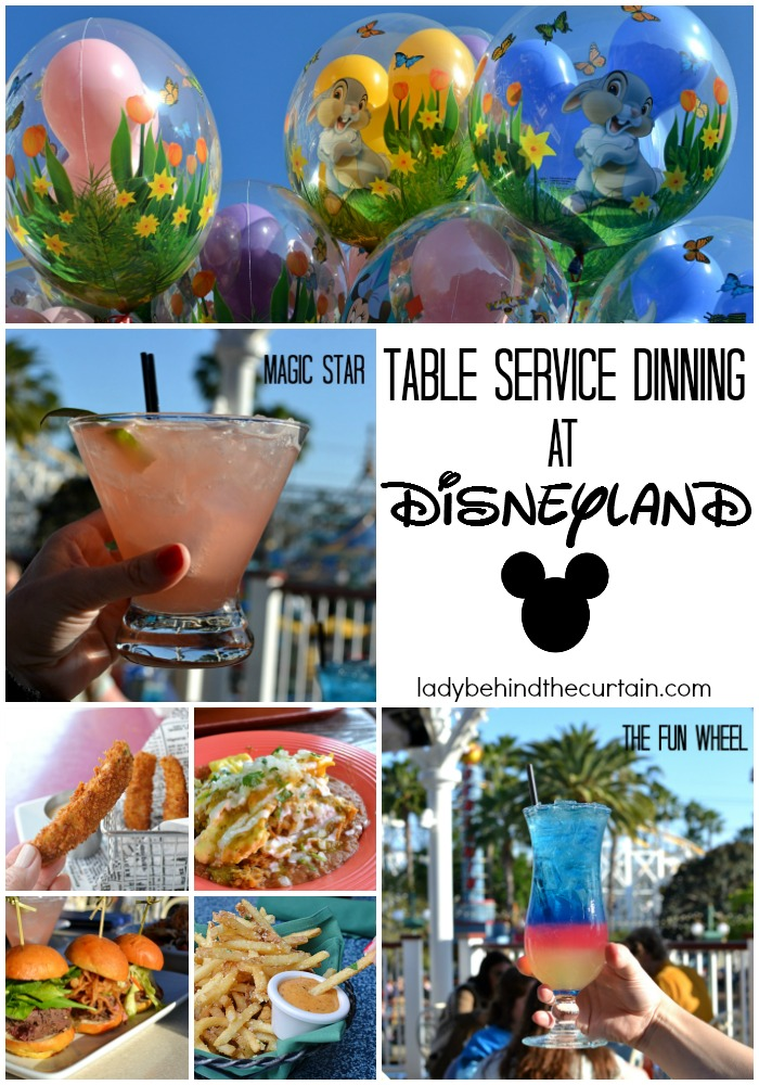 Table Service Dinning at Disneyland | I was so dissapointed to learn about the changes Disneyland had made!