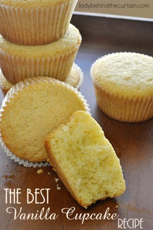 The Best Vanilla Cupcake Recipe | Just the right texture and moisture. When a recipe has TWO vanilla beans and heavy cream in it you know it's going to be good. You can take this base recipe and add different things to it. Like dry jello mix, lemon lime soda, chocolate chips, toffee bits....I could go on and on.