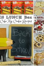 10 Lunch Box Cake Mix Cookie Recipes