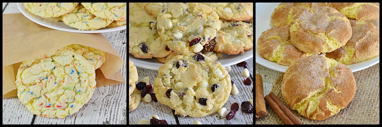 Yellow Cake Mix Bar Cookie Recipe
