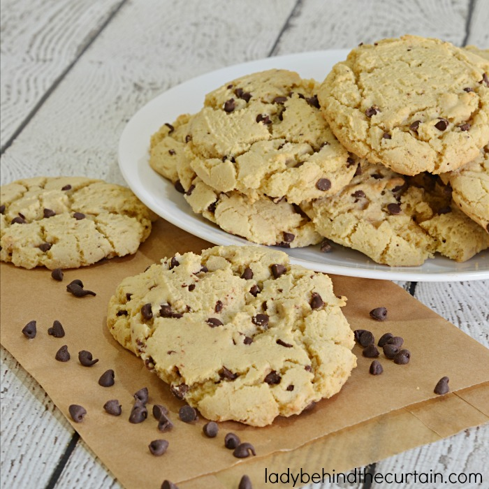 Chocolate Chip Cake Mix Cookie Recipe | America's favorite cookie just got the BEST makeover!