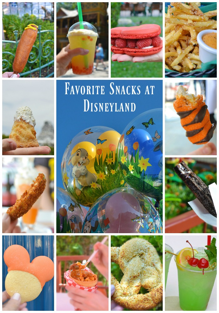 Favorite Snacks at Disneyland | With snack stops all over the Disney parks I made it my mission to try as many as I could so I could present to you my Favorite Snacks at Disneyland.