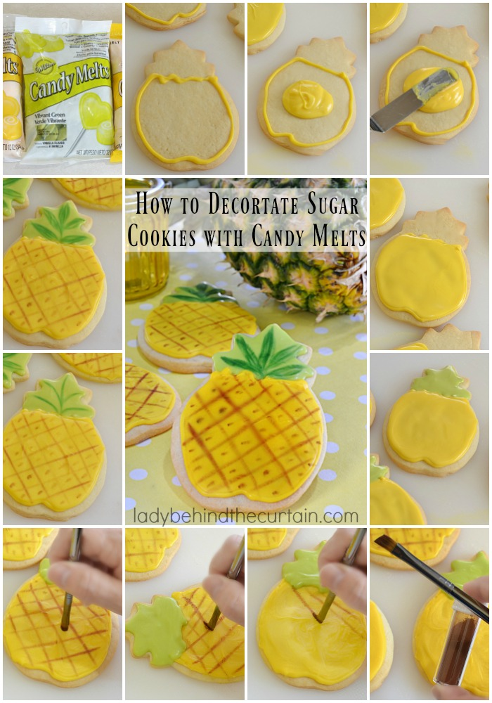 How To Decorate Sugar Cookies With Candy Melts
