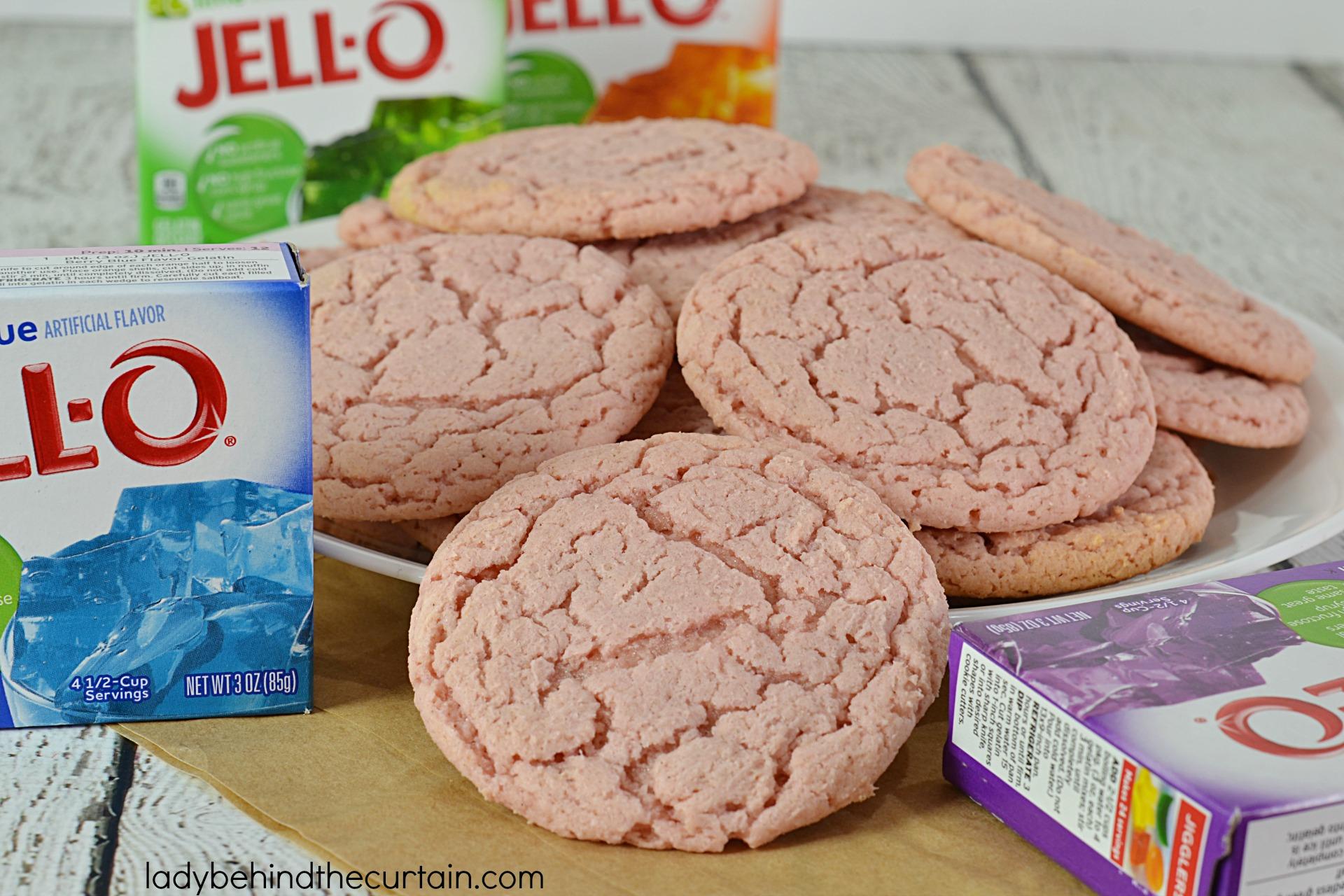 Jello Flavored Cake Mix Cookie Recipe