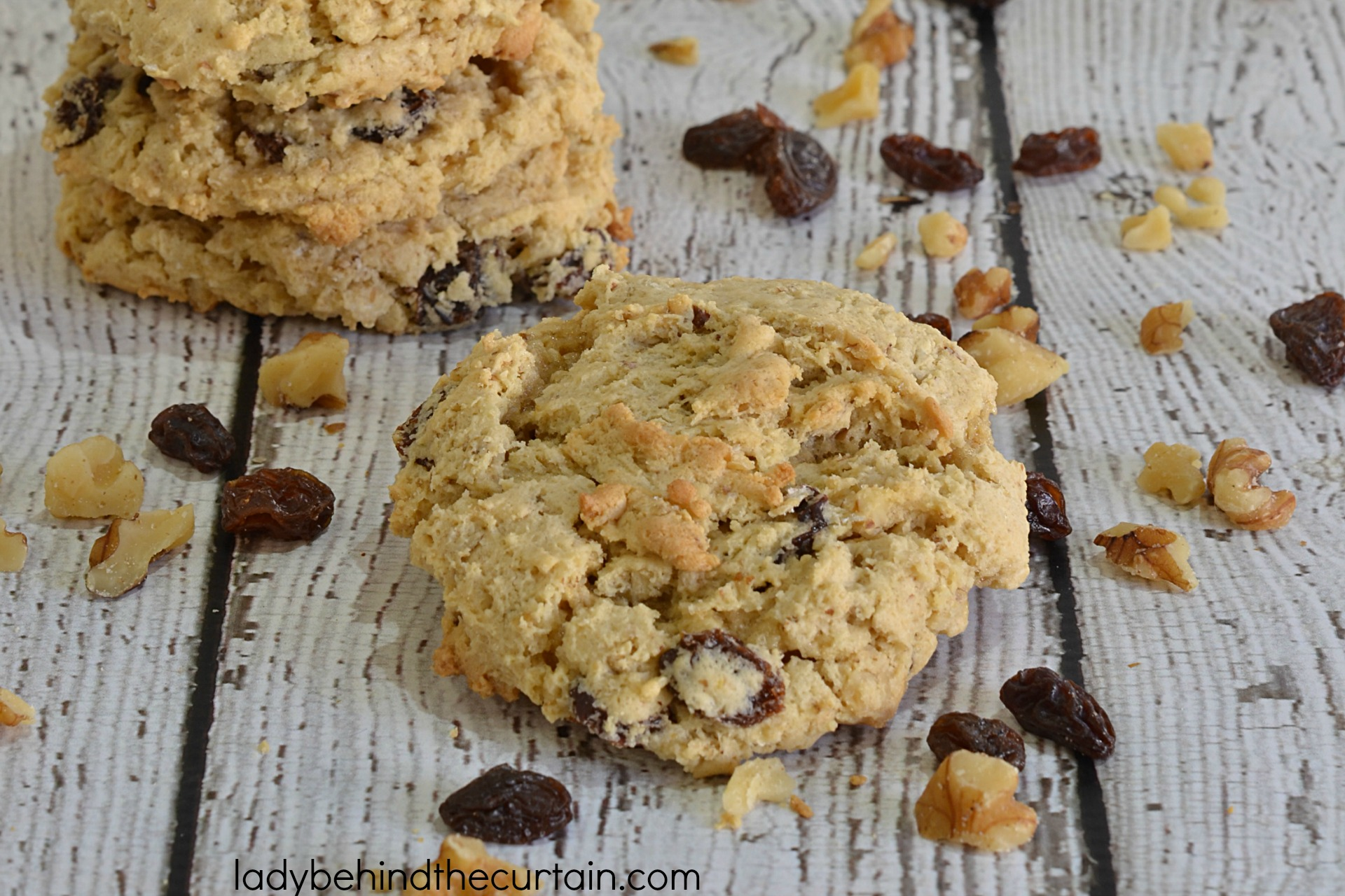 Oatmeal Raisin Bars Using Cake Mix