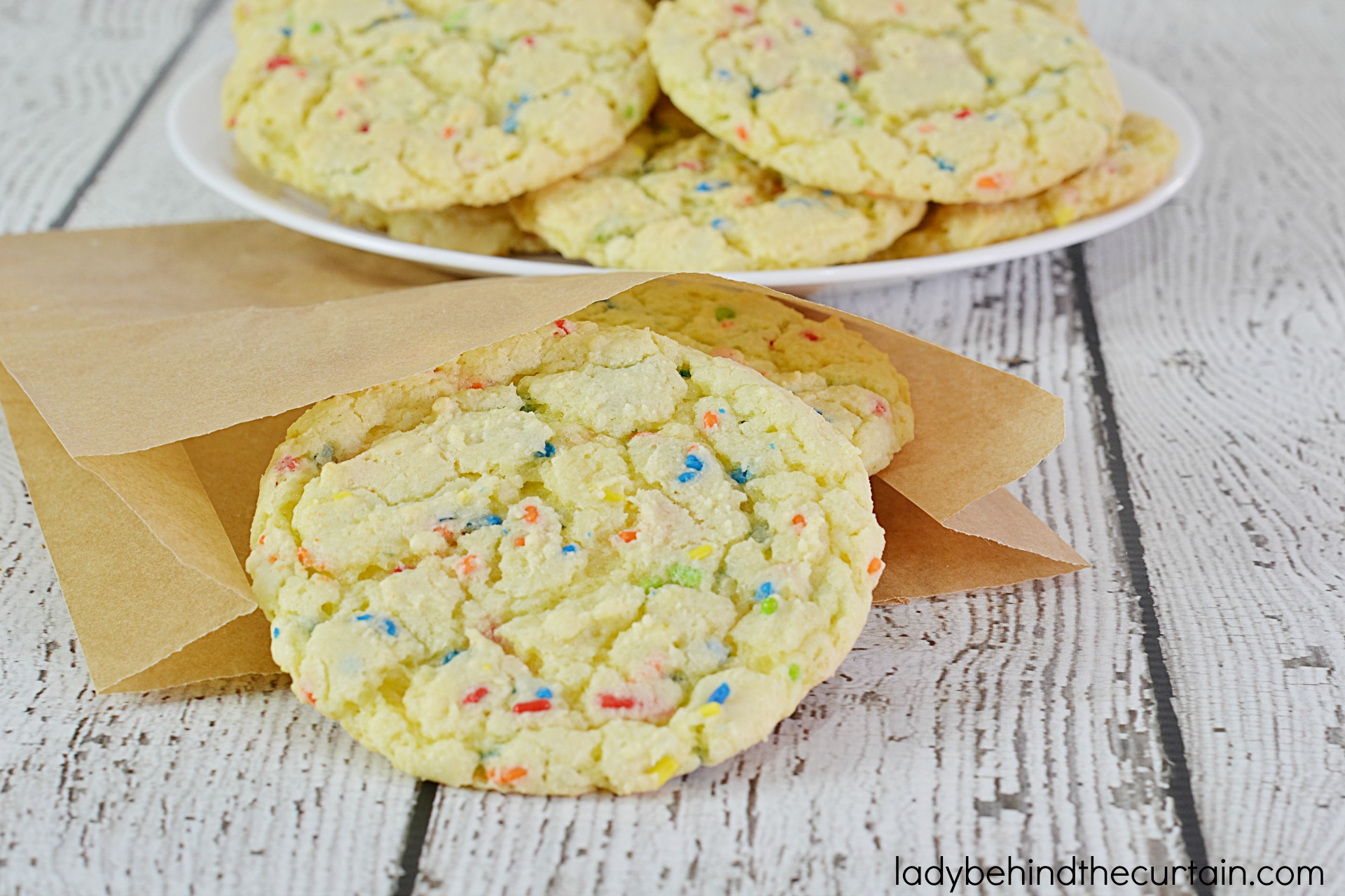 Sprinkles Cake Mix Cookie Recipe