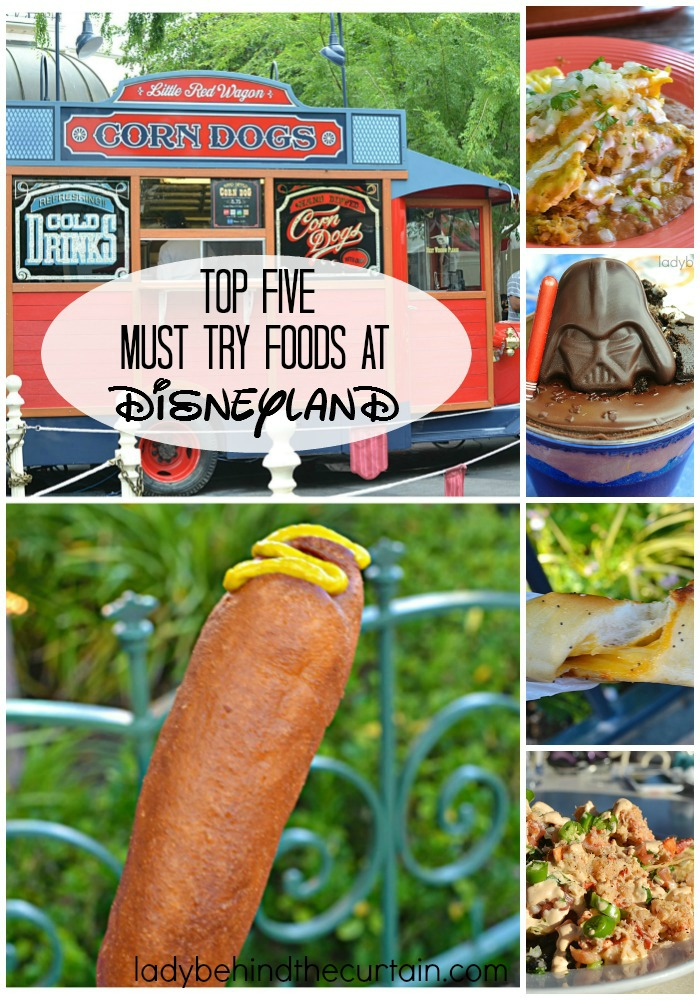 Top Five Must Try Foods at Disneyland | Entertainment is not the only thing Disney does well. They also know how to feed us. From top notch snacks to sit down fancy dining Disneyland really knows how to make their guests happy.