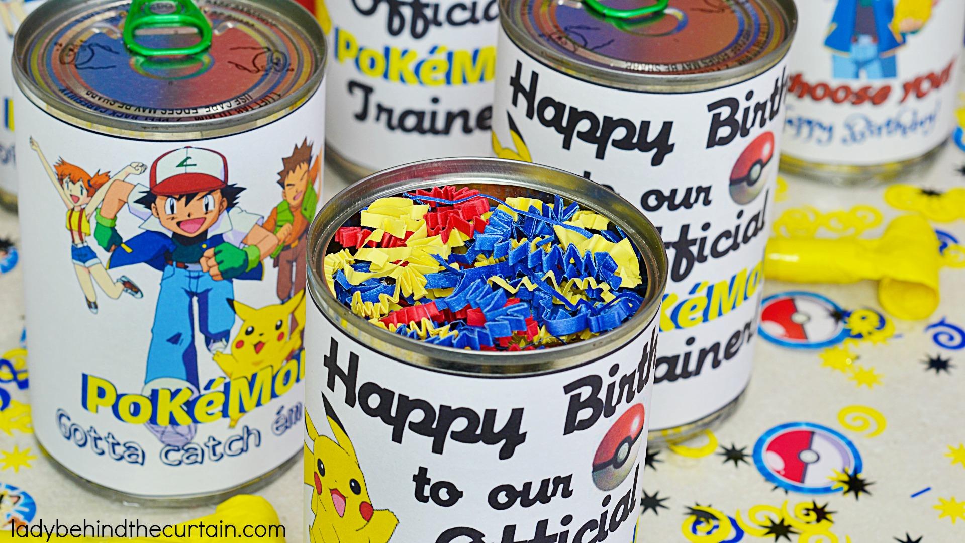 Traveling Pok 233 Mon Go Birthday Party