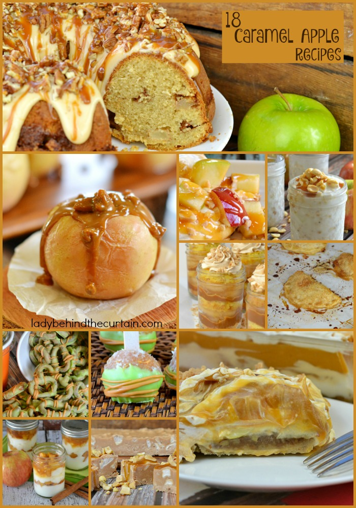 18 Caramel Apple Recipes