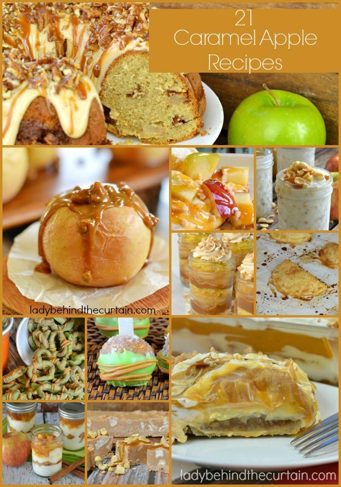 21 Caramel Apple Recipes