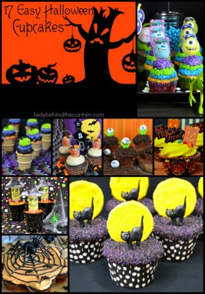 17 Easy Halloween Cupcakes | The perfect Halloween Party Treat!