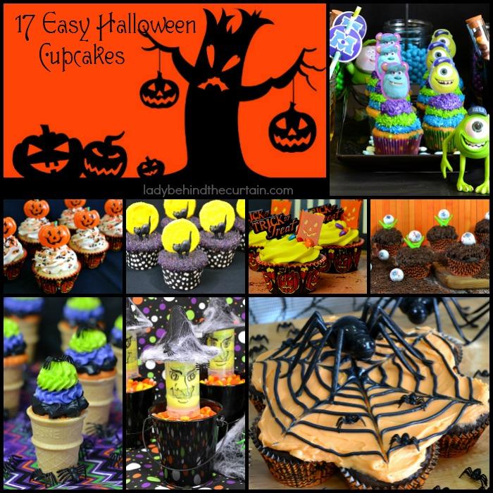 17 Easy Halloween Cupcakes