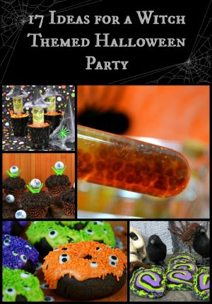 17 Ideas for a Witch Themed Halloween Party | From creePy to cute this round up is filled with fun Halloween Party Ideas
