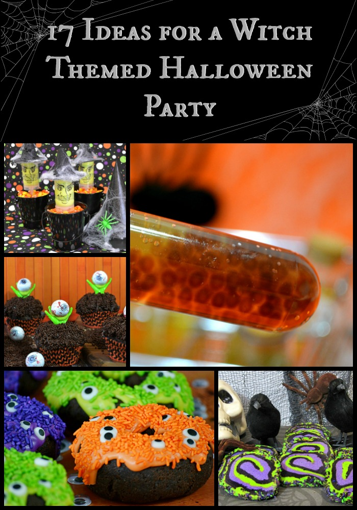 17 ideas for a witch themed halloween party from creepy to cute this round up