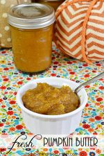 Fresh Pumpkin Butter