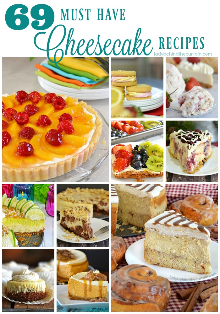 69 Must Have Cheesecake Recipes