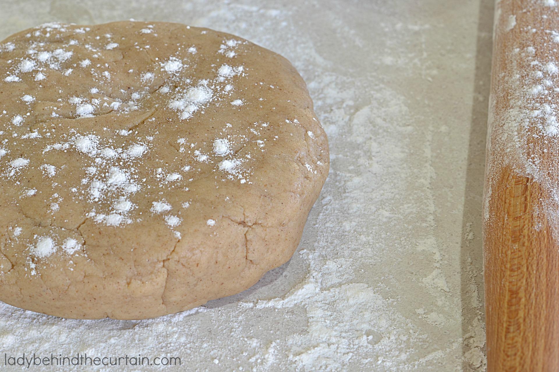 No Roll Spiced Nut Pie Dough