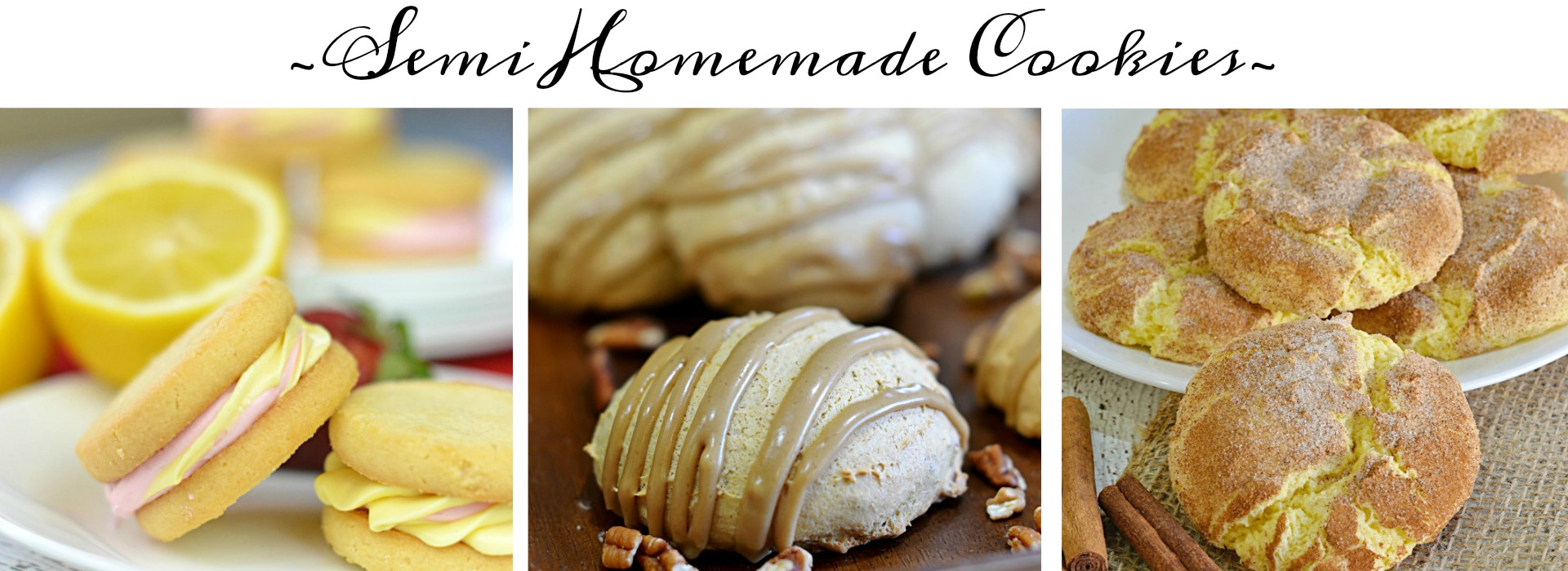 Semi Homemade Recipes|Breakfast, Appetizers, Main Dish, Cakes, Cupcakes, Party Food..All Semi Homemade!
