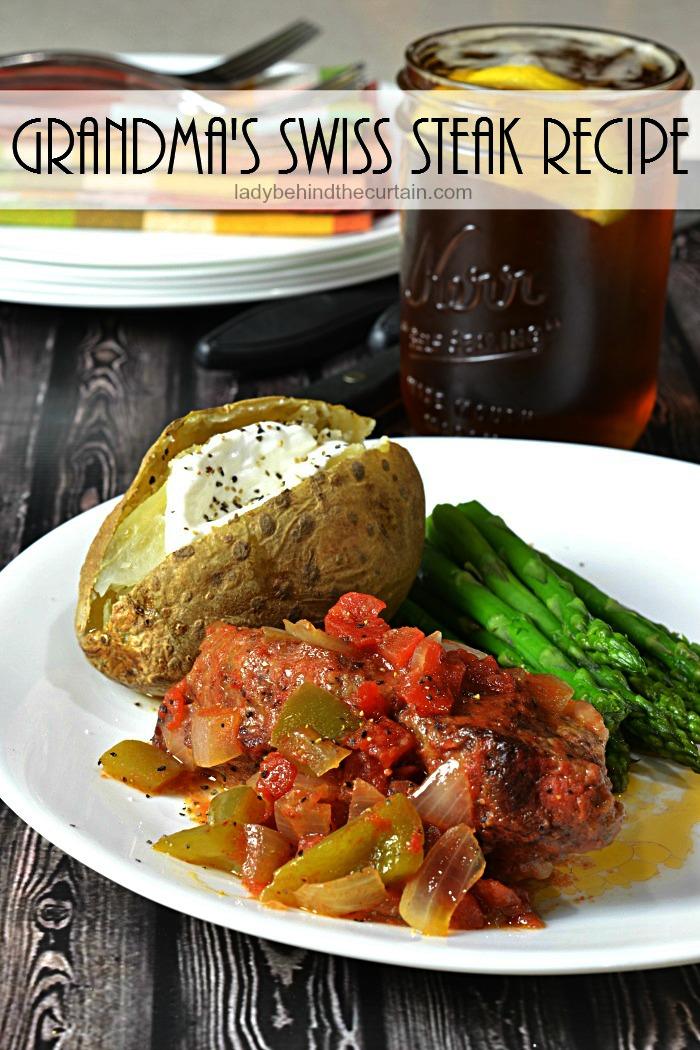 Grandma's Swiss Steak Recipe|One pot wonder, tri tip, easy dinner recipe, recipe for a crowd
