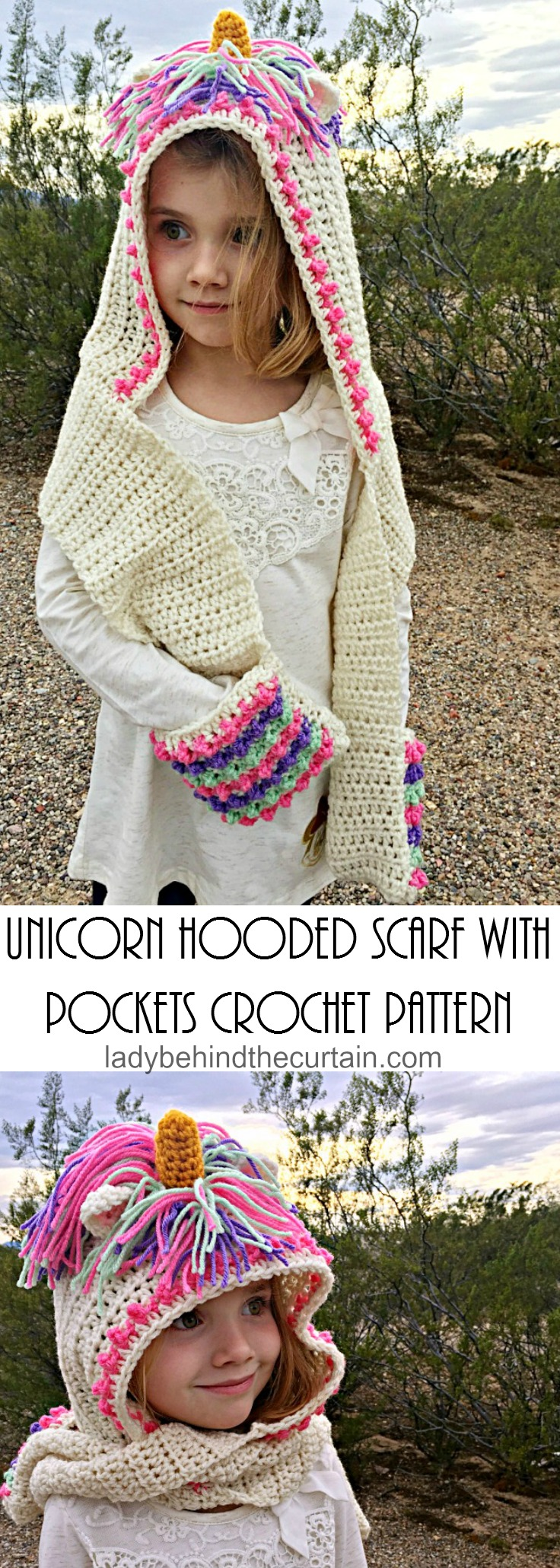 Crochet Hooded Scarf Pattern Awesome Inspiration Ideas