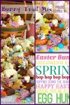 Bunny Trail Mix | Easter Basket, decorated pretzels, easter recipe
