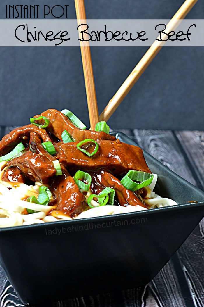 Instant Pot Chinese Barbecue Beef