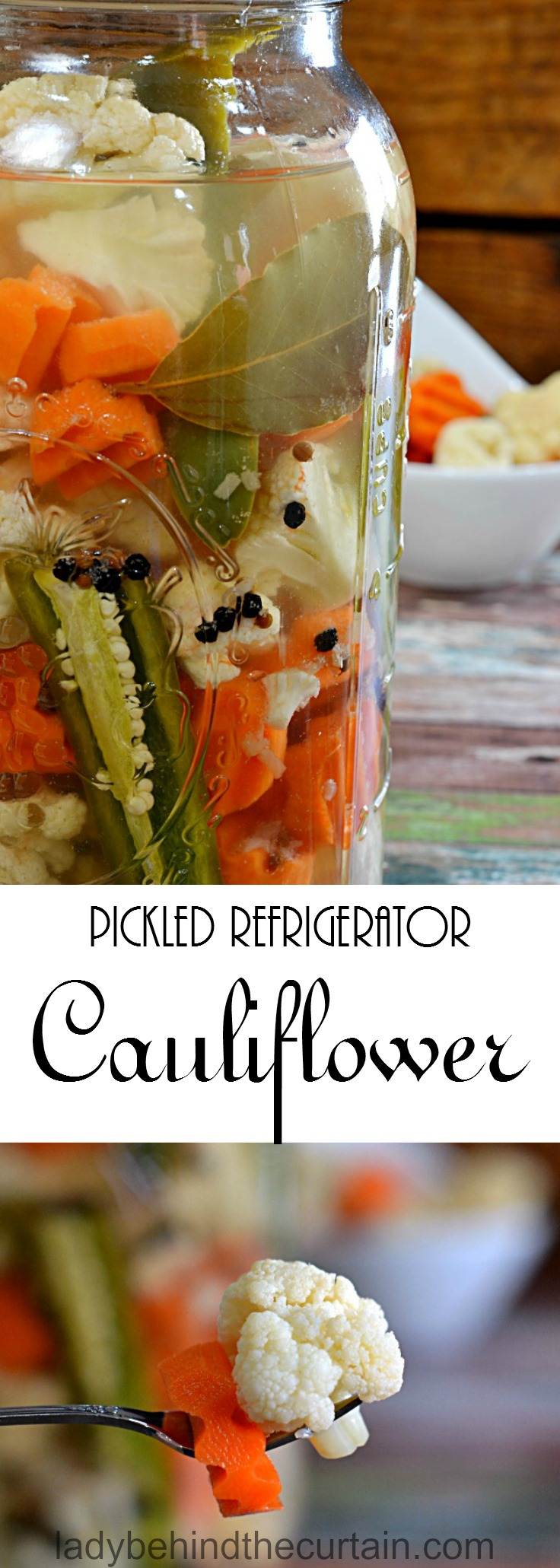 Cauliflower - whether to Pickle for the Winter Recipe for Pickled Cauliflower 54