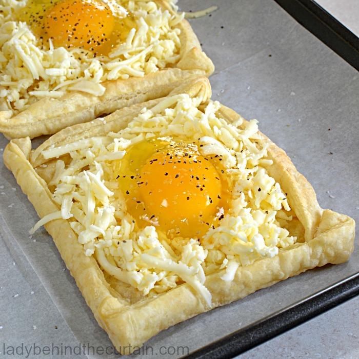 Bird in a nest tarts bird in a nest tarts easter brunch recipe easy brunch recipe egg in forumfinder Image collections