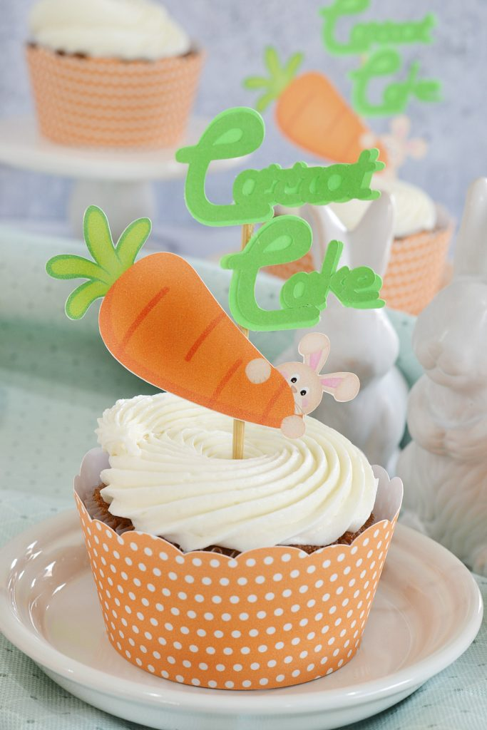 Pineapple Carrot Cupcakes