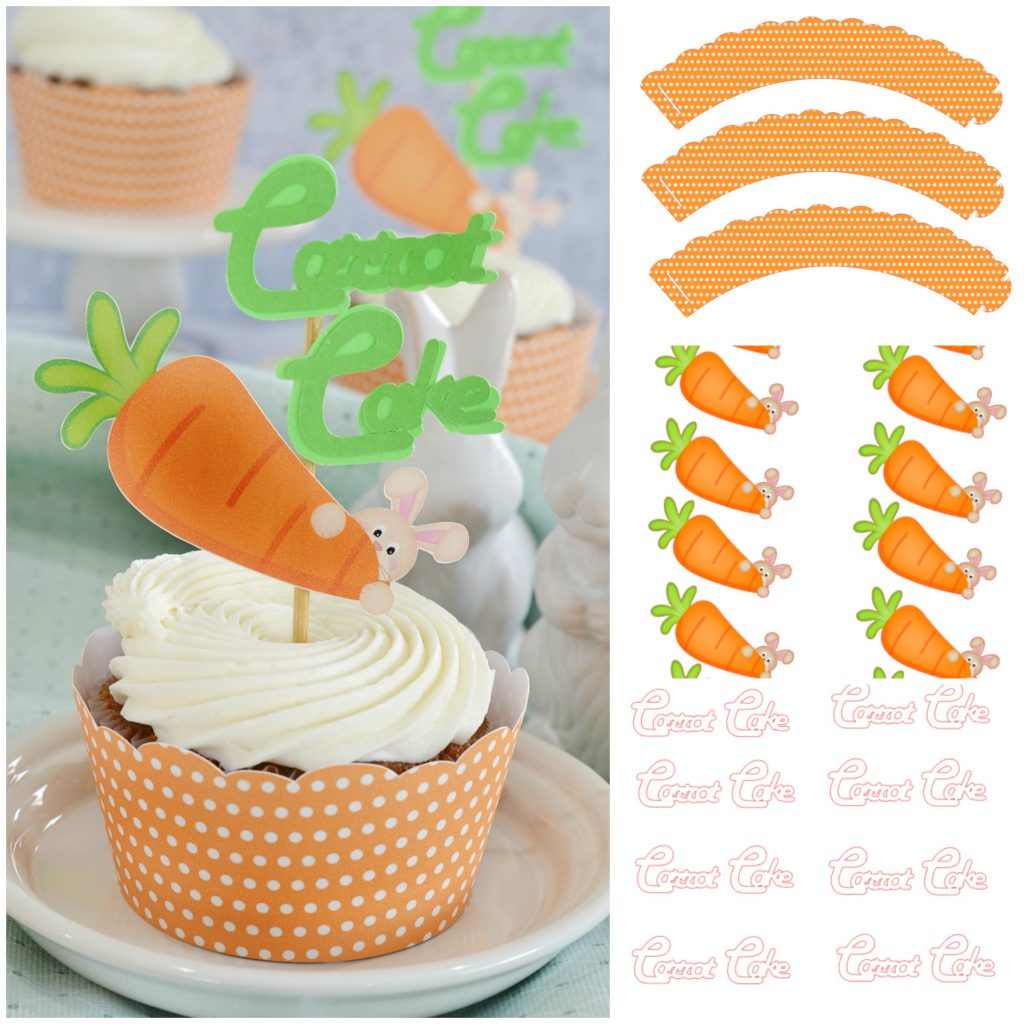 Pineapple Carrot Cupcakes
