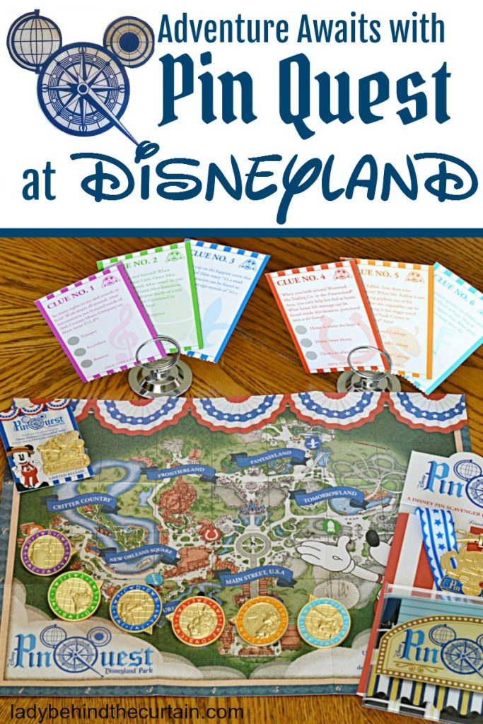 Adventure Awaits with Pin Quest at Disneyland