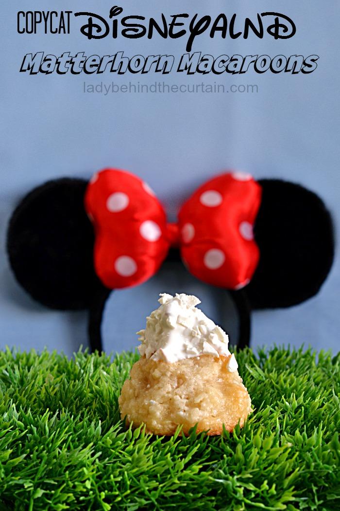 Copycat Disneyland Matterhorn Macaroons