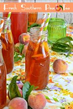 Fresh Southern Peach Tea