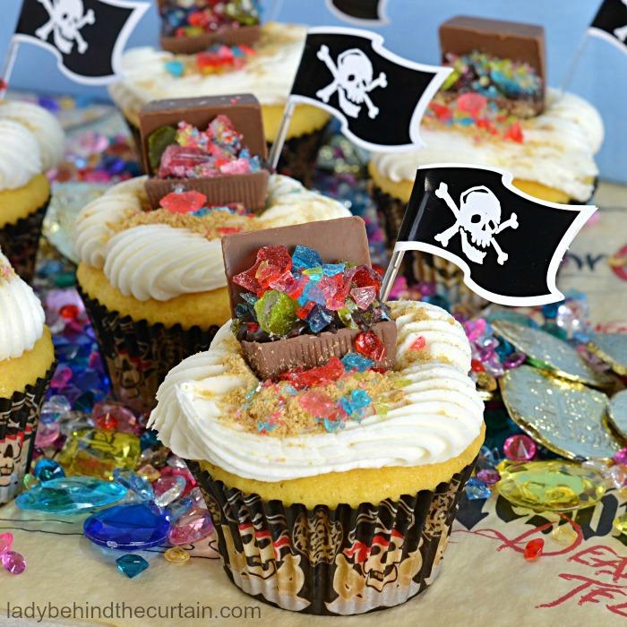Edible Pirate Treasure Chest
