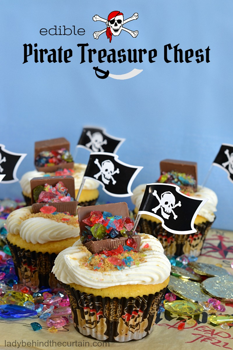 Pirate treasure chest edible pirate treasure chest publicscrutiny Image collections
