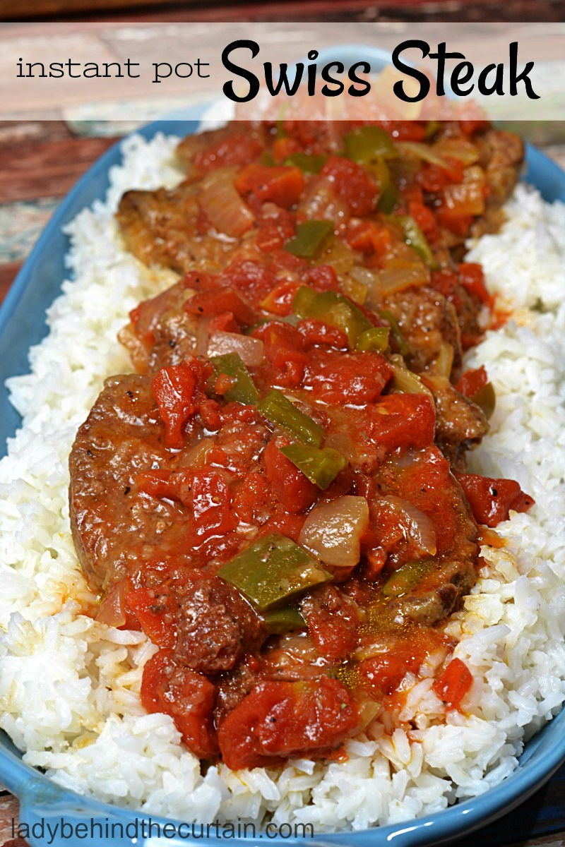 Instant Pot Swiss Steak