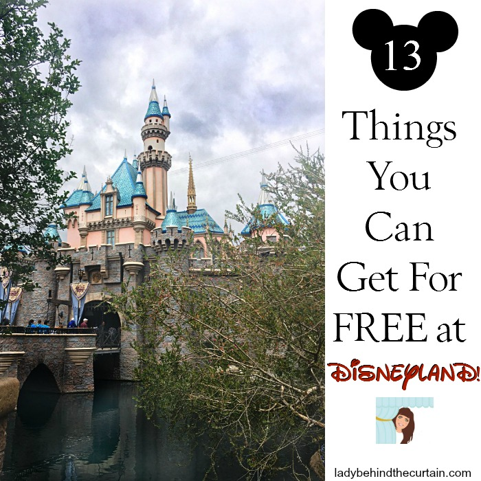 Things you Can get for FREE at Disneyland