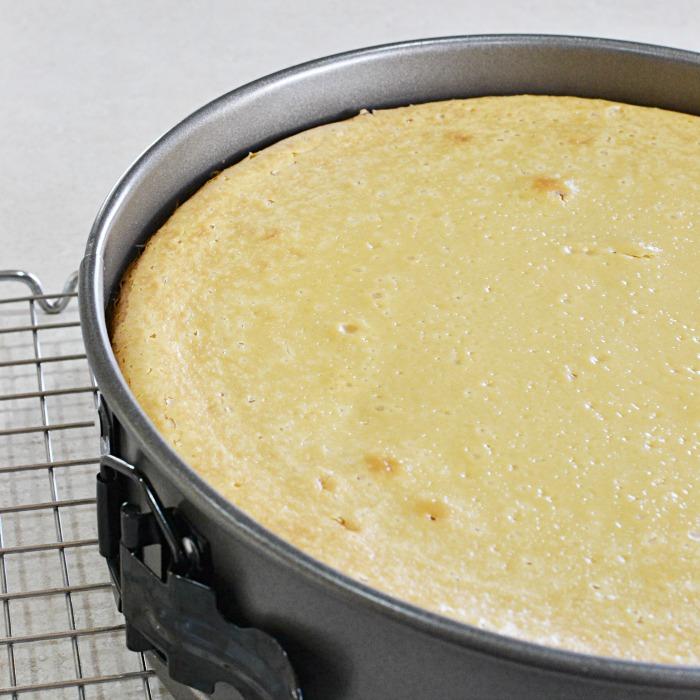 Upside Down Turtle Cheesecake