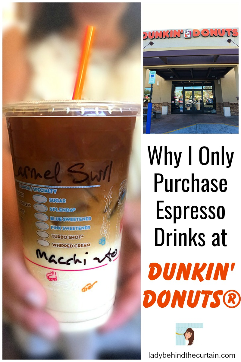 Why I Only Purchase Espresso Drinks At Dunkin Donuts 174