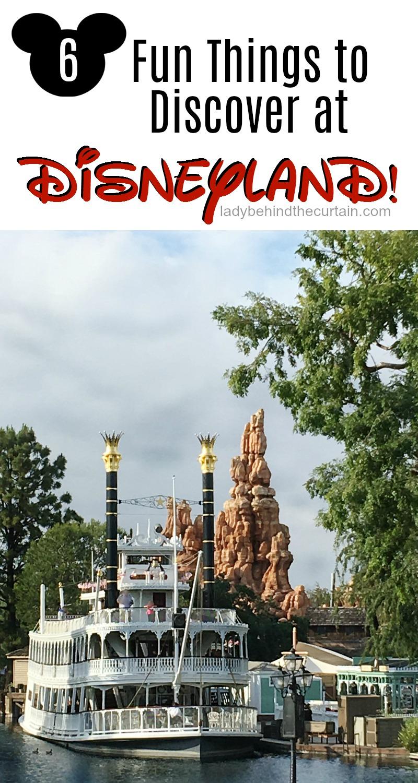 6 Fun Things to Discover at Disneyland