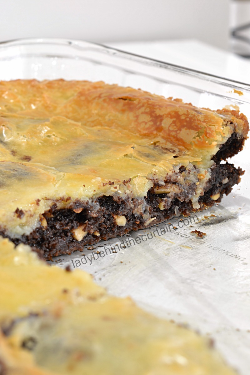 Almond Joy Gooey Butter Cake