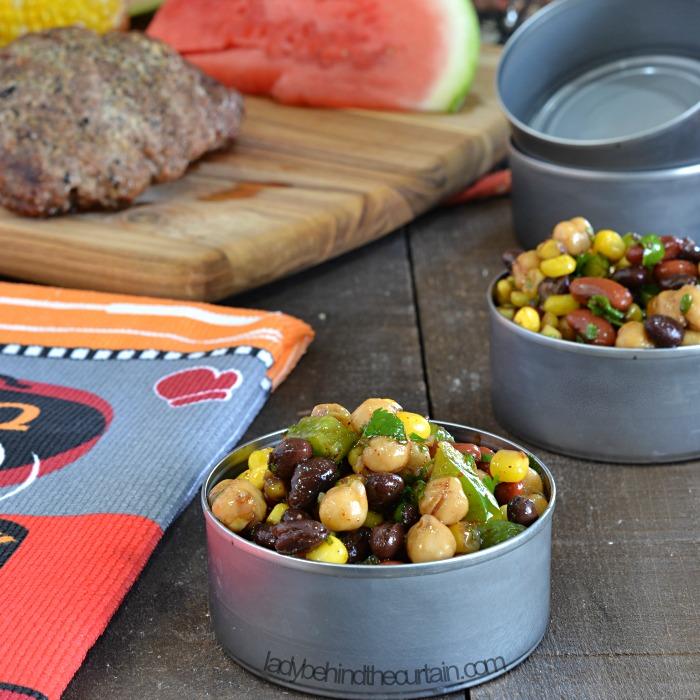 Copycat Deli Confetti Bean Salad