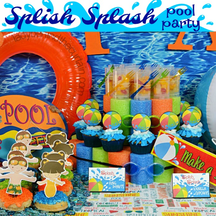 Splish Splash Pool Party