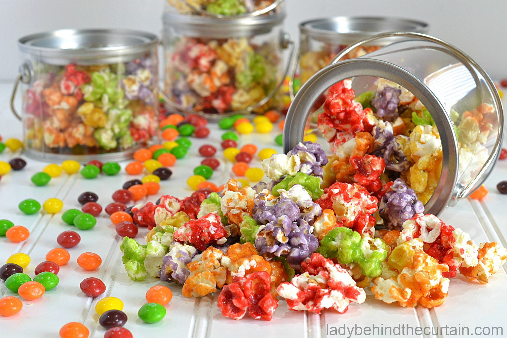 Summer Fruity Candy Popcorn