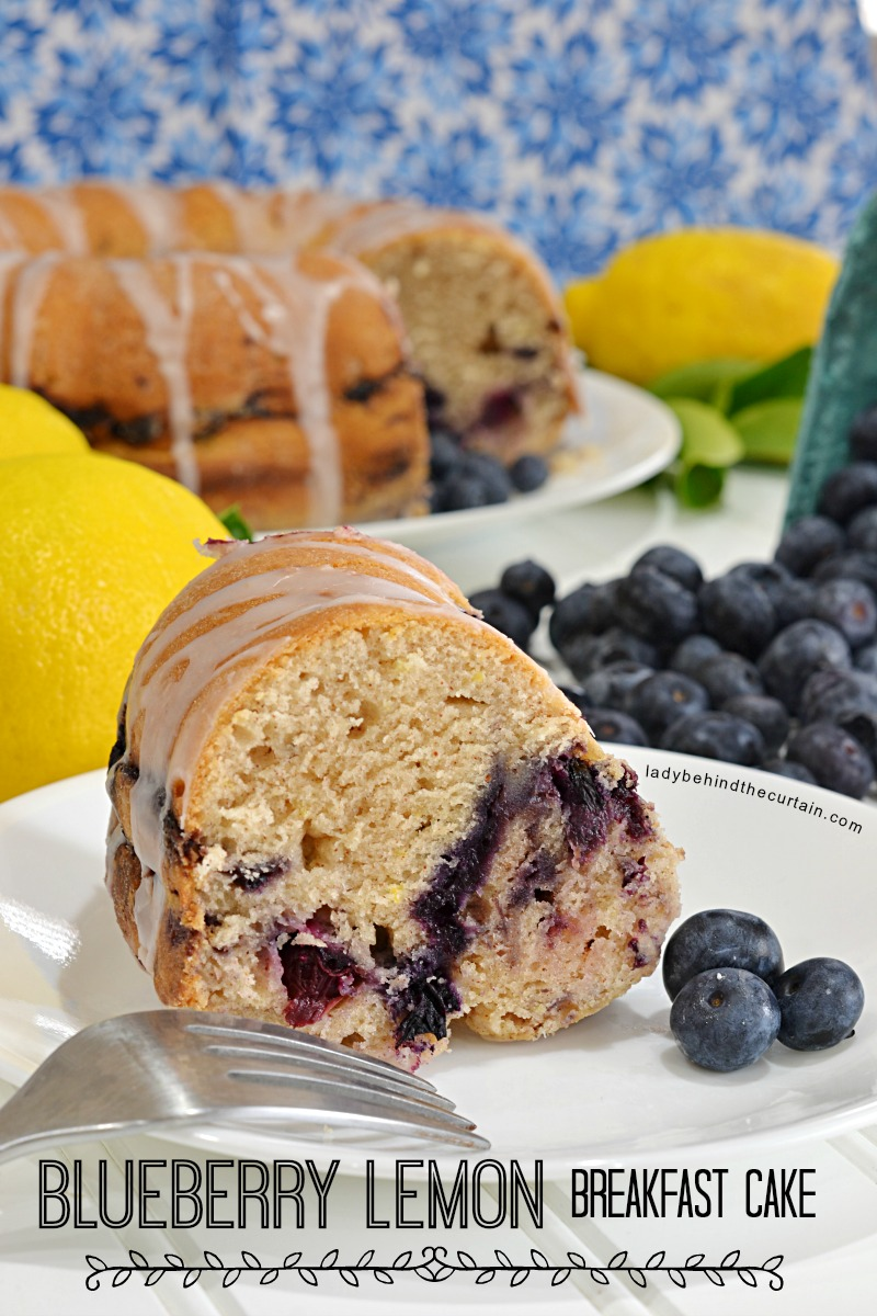 Blueberry Lemon Breakfast Cake