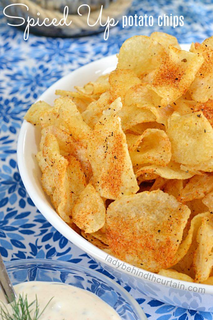Spiced Up Potato Chips