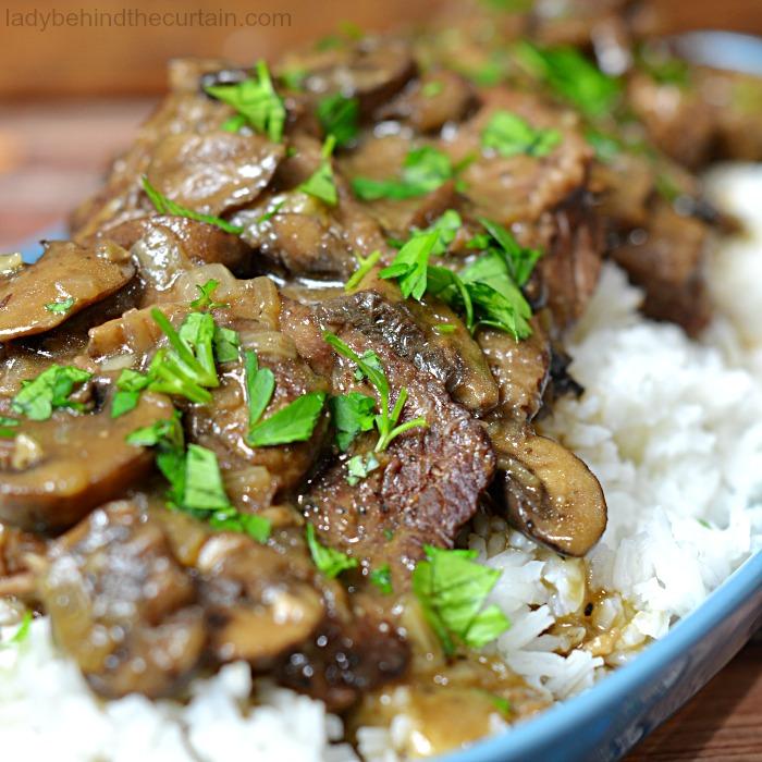 Instant Pot Mushroom Beef Recipe